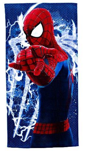 Disney Store - Toalla de playa, 152 x 76 cm, Spiderman, para hombre