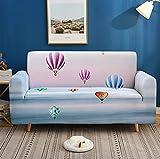 Funda de sofá con diseño de globo de aire caliente para sofá,...
