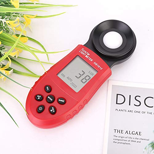AUNMAS Digitaler Lichtmesser Handheld Beleuchtungsstärkemesser Professioneller Lichtmesser Luxmeter Photometer