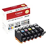 キャノン インクジェットカートリッジ BCI-326+325/6MP 1パック(6色) (4713B002)