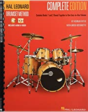 Hal Leonard Drumset Method - Complete Edition: Books 1 and 2 with Video and Audio: 1-2