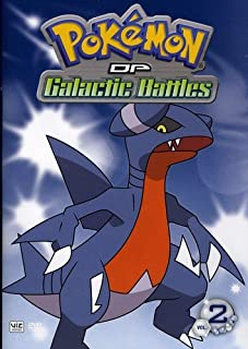 Pokemon DP Galactic Battles Volume 2 (DVD)