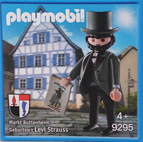 PLAYMOBIL 9295 Levi Strauss figure in tails - limited german exclusive edition