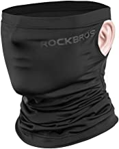 ROCK BROS Cooling Neck Gaiter Face Mask Bandana Face Covering for Men Face Scarf Mask