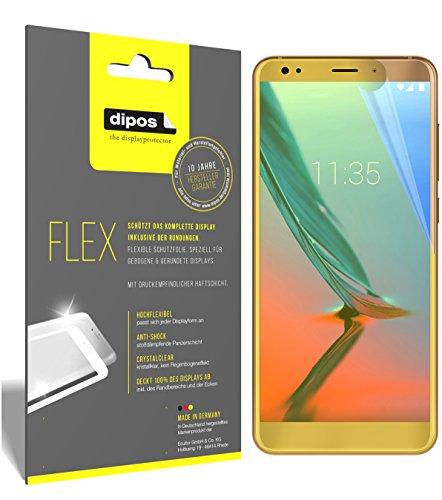 dipos I 3X Schutzfolie 100prozent kompatibel mit ZTE Blade V9 Vita Folie (Vollständige Bildschirmabdeckung) Bildschirmschutzfolie