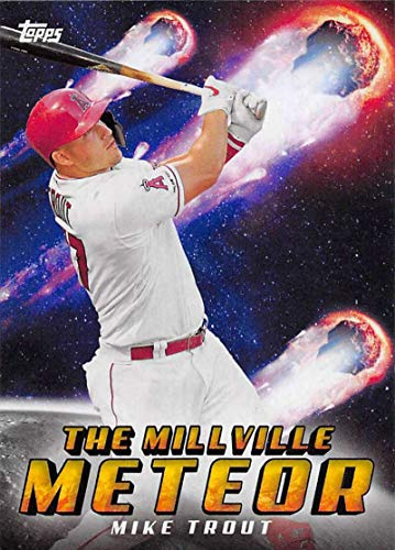 2020 Topps Archives #303 Mike Trout Los Angeles Angels MLB Baseball Trading Card