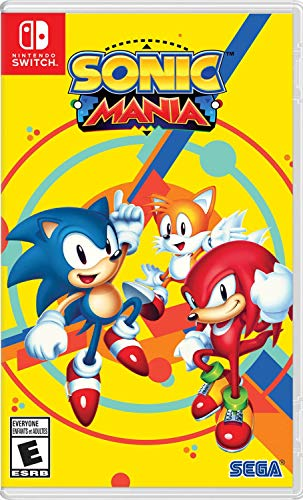 Hot Topic Sonic Mania Nintendo Switch