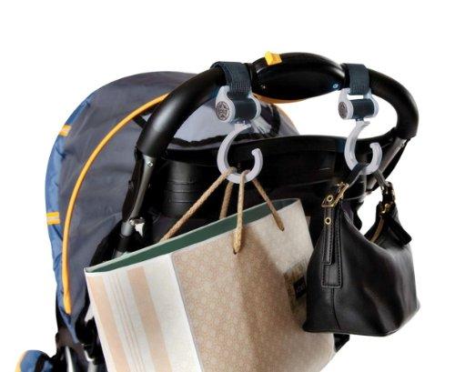 Jeep Universal Pushchair Stroller Hooks 2 Pack