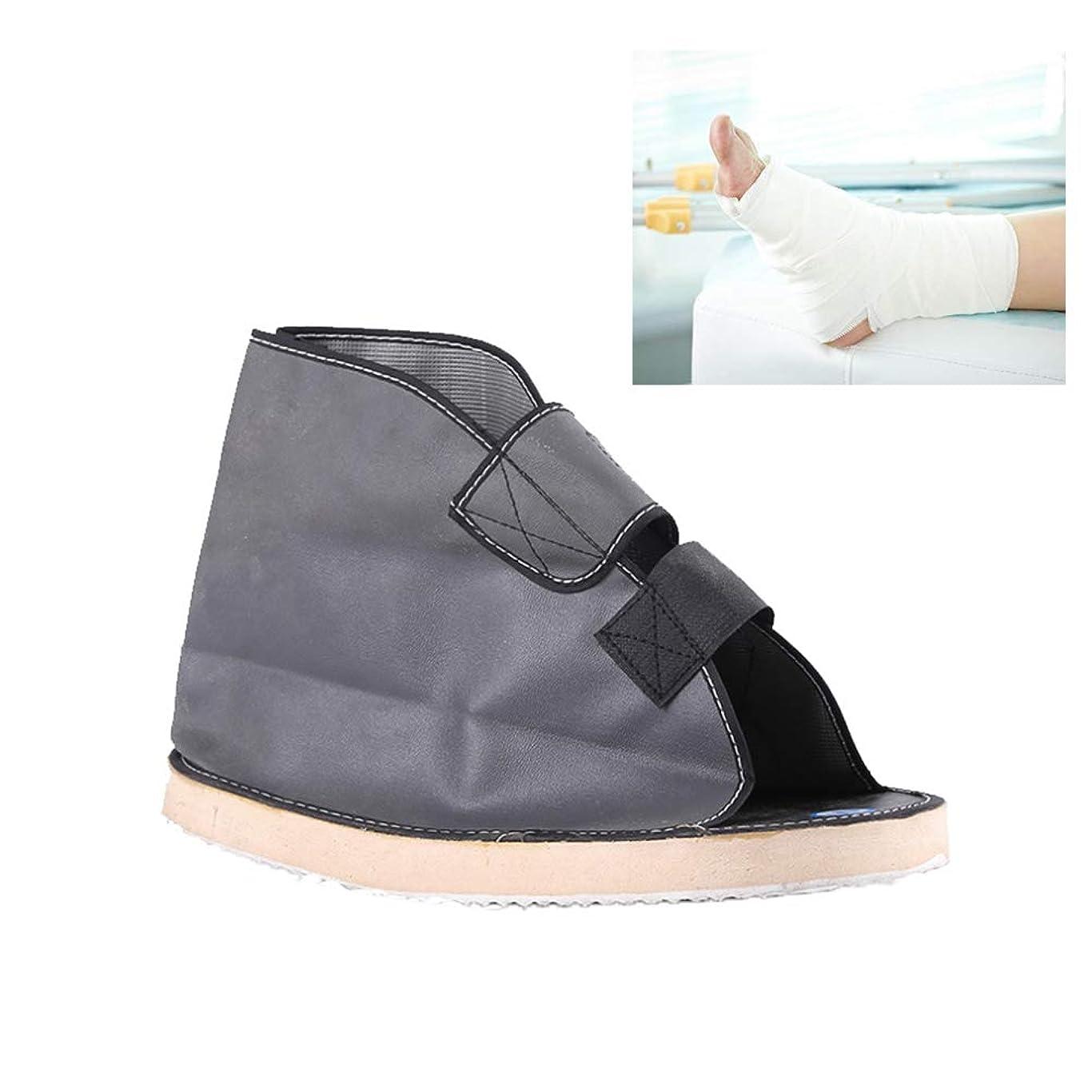 ティッシュ航空会社に対してキャスト医療靴術後医療ウォーキングブーツポスト傷害外科的骨折足ウォーキングシューズヒーリングリハビリ石膏靴,L1pc