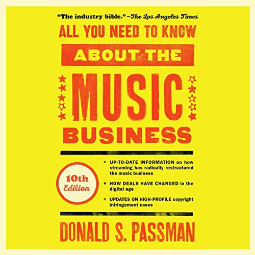 All You Need to Know About the Music Business audiobook cover art