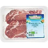 Königshofer Bio Schweinekamm-Steaks natur 2 Stück ca. 350 gr (6 x 350 gr)