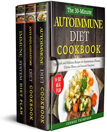 The Complete Autoimmune Diet for Beginners 3 Book Set Includes The 30 Minute Autoimmune Diet product image