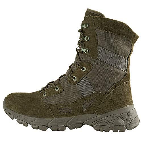 QHGao Mannen woestijn Action Boots, Lichtgewicht Combat Boots, Duurzame Suede Militaire Laarzen, Ademend Gaas, All-round Ademen, Outdoor Waterdichte Laarzen, Wandelen Combat Boots