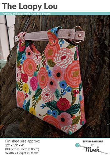 Mrsh The Loopy Lou Tasche für Damen, modernes Schnittmuster