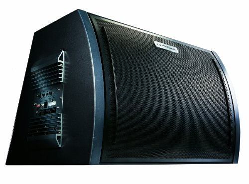 Lynx Audio SW-836D 10-Inch Active 500W Subwoofer Custom Ported Transparent Sound Box with Built-in 300W High Frequency Amplifier