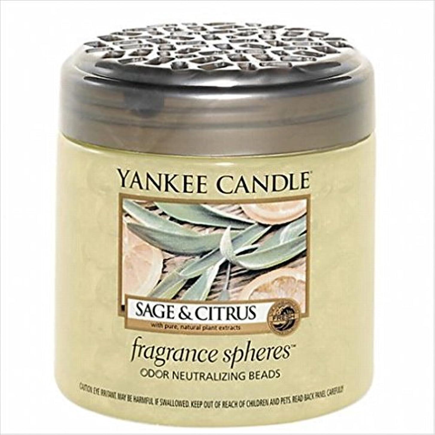 謎めいた横散歩に行くヤンキーキャンドル( YANKEE CANDLE ) YANKEE CANDLE フレグランスビーズ 「 セージ&シトラス 」