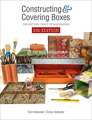 Compare Textbook Prices for Constructing and Covering Boxes: The Art and Craft of Box Making 2 Edition ISBN 9780764358913 by Hollander, Tom,Hollander, Cindy