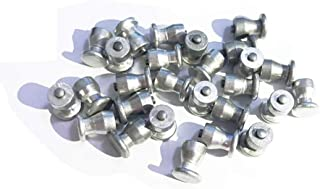 Marrkey 100PCS 8x10mm Small Screw in Tire Studs Spikes Hard Alloy Anti-Slip Stud Screws Tire Spikes for Motorcycle/Truck/ATV/SUV/Auto Car Accessories