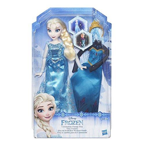 Hasbro Disney Die Eiskönigin B5170ES0 - Disney Die Eiskönigin ELSA mit festliches Wechsel-Outfit, Puppe
