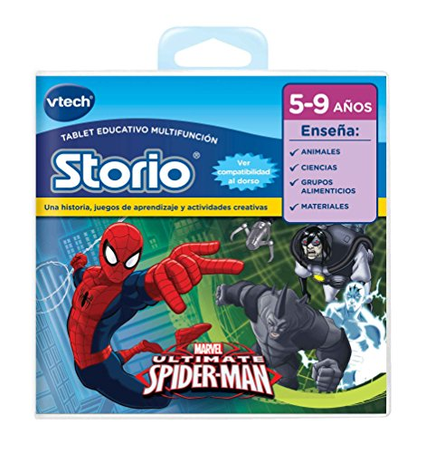 Vtech Storio - Tablet zum Lernen Spiderman