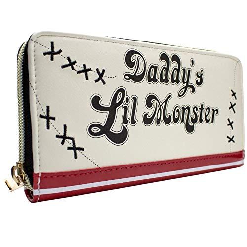 Suicide Squad Daddys Lil Monster Weiß Portemonnaie Geldbörse