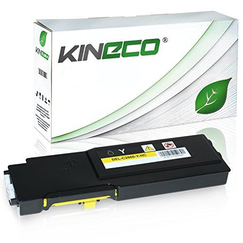 Toner kompatibel für Dell C2660DN, C2665DNF, C2600 Series - 593BBBR - Yellow 4.000 Seiten