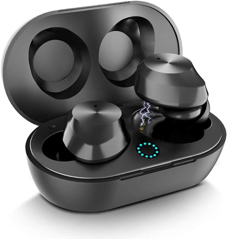 True Wireless Earbuds Bluetooth 5.0 Headphones Touch Control, True Wireless Earbuds TWS Bluetooth Headphones in-Ear Stereo, 5.0 True Wireless Bluetooth Earbuds V5.0 with Charging Case Waterproof.