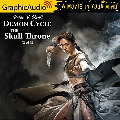 Couverture de The Skull Throne (2 of 3) [Dramatized Adaptation]