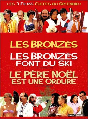 Coffret Splendid 3 DVD : Les Bronzés / Les Bronzés font du ski / Le Père Noël est une ordure