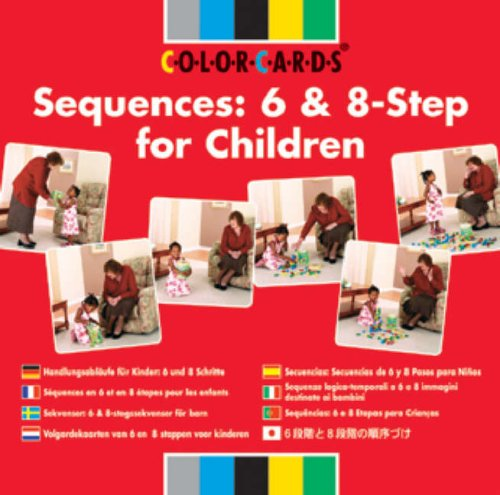 Speechmark: Sequences: Colorcards: 6 and 8-step for Children (Sequencing Colorcards)