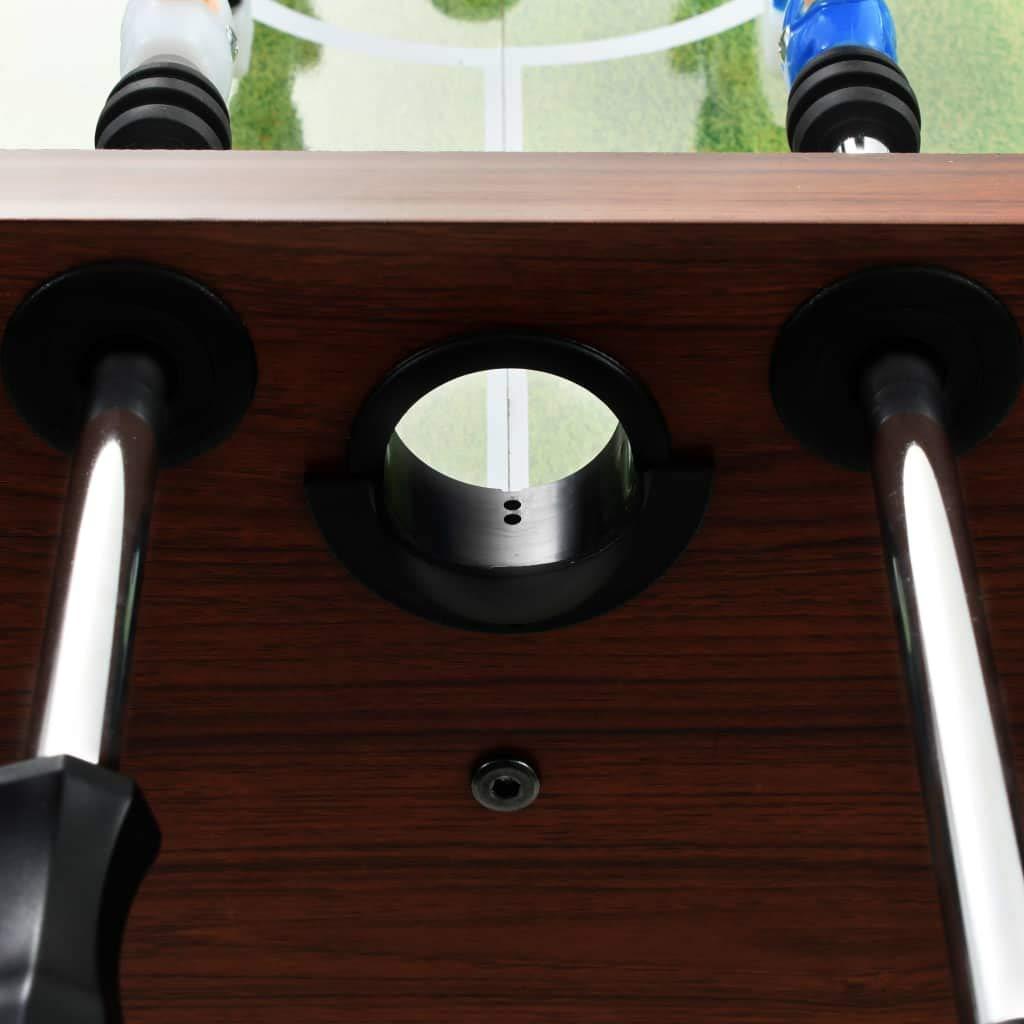Nishore Futbolín 60 kg Material de MDF + Acero 140 x 74,5 x 87,5 ...