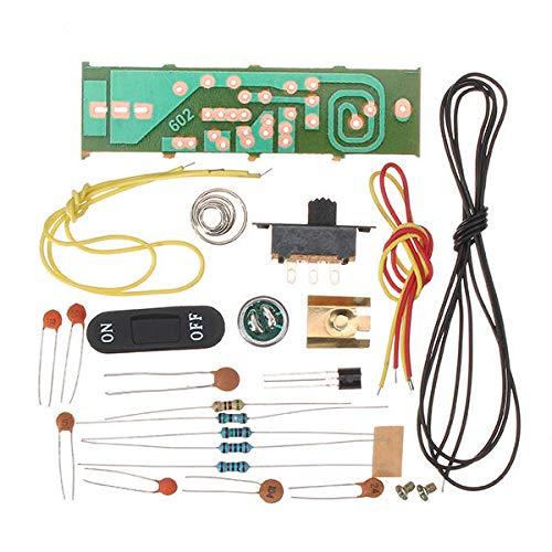 Modulo electronico DIY Kit de micrófono inalámbrico de FM FM electrónica de producción electrónica de repuesto Formación 5Pcs