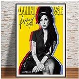 Amy Winehouse Musik Sängerin Star Poster Malerei Kunst