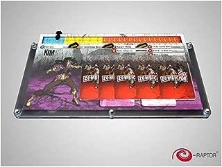 e-Raptor ERA93689 Board Game Organizers Organizer Zombicide Card Game