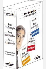 """Coffret 3 Volumes, Dicos d'or référence : """" Toute la conjugaison, Toute la grammaire, Toute l'orthographe"""" Broché"""