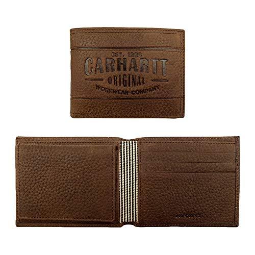 Carhartt Herren Billfold Wallet Falt-Brieftasche, braun, Einheitsgröße
