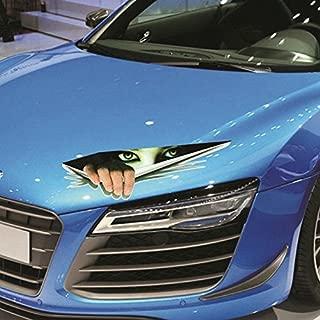 Funny Car Sticker 3D Funny Stickers - Eyes Peeking Monster sticker Voyeur Car Hoods Trunk Thriller Rear Window Decal
