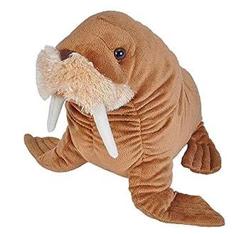 Wild Republic 22488 Walrus Plush Stuffed Animal Plush Toy Gifts for Kids Cuddlekin Size 12