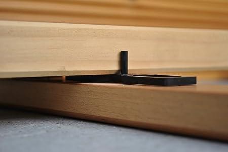 Terrassenpads Abstandshalter Terrassendielen Terrassenschrauben Terrassenpads Rolle Terrassenpads 90 x 90 mm, 3 mm - 50 St/ück Terrassenbau Zubeh/ör