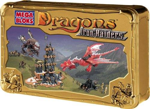 Mega Bloks Dragons : Torre Secreta Raiders