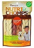 NutriChomps Dog Chews, 6-inch Braids, Easy to Digest, Rawhide-Free Dog Treats, Healthy, 4 Count,...