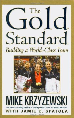 The Gold Standard by Mike Krzyzewski (6-Aug-2009) Hardcover