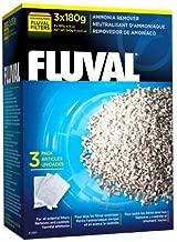 Fluval Ammonia Remover, 180-gram Nylon Bags, 3 Per Box