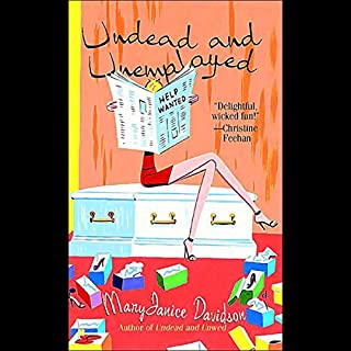Undead and Unemployed audiobook cover art