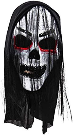 Opla3Ofx Halloween Cosplay Costume Face Mask,Halloween Masquerade Prom Party Costume Kids Adults Accessories Decorations E