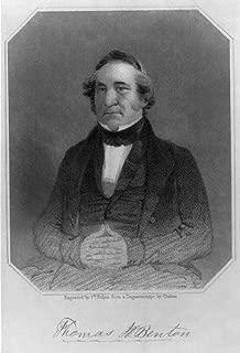 HistoricalFindings Photo: Thomas Hart Benton,1782-1858,Old Bullion,US Senator