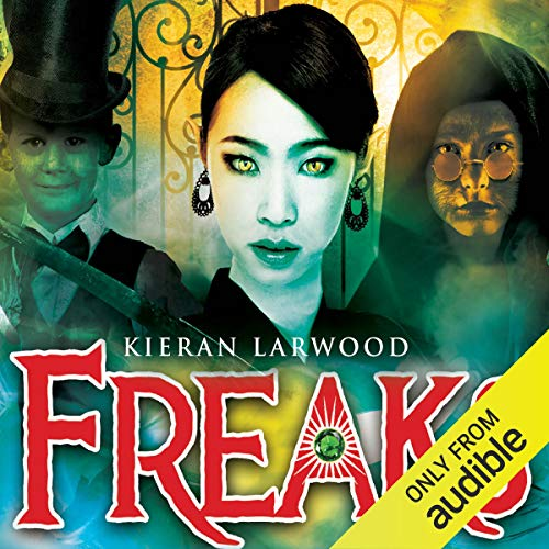 Freaks audiobook cover art