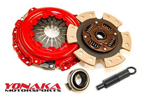 Yonaka B-Series 6 Puck Stage 3 Performance Heavy Duty Clutch Kit for Honda/Acura