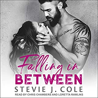 Falling in Between audiobook cover art