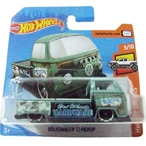 Hot Wheels Volkswagen T2 Pickup HW Hot Trucks 3/10 2018 (297/365) Short Card